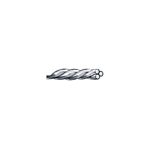 łuki stalowe plecione 3-nitkowe