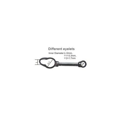sprężyna niti zamknieta ( z oczkiem)